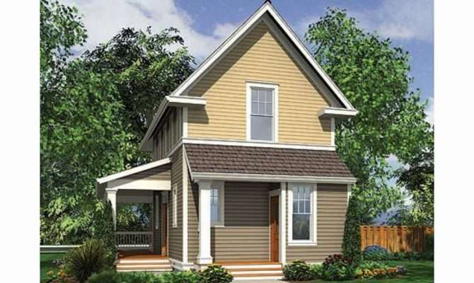 Small Home House Plans Narrow Lots Homes