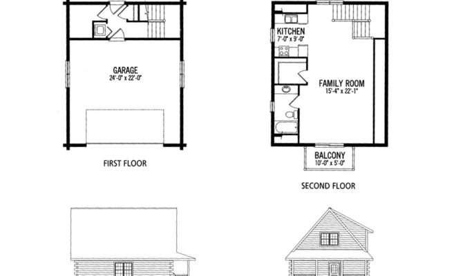 Small Home Plans Loft House Floor