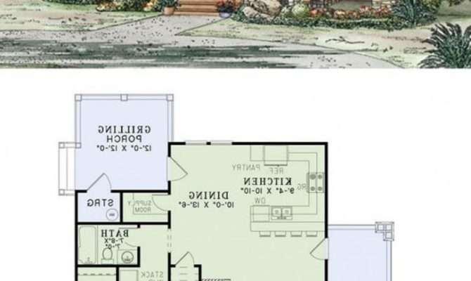 Small Home Plans Seniors Homes Floor