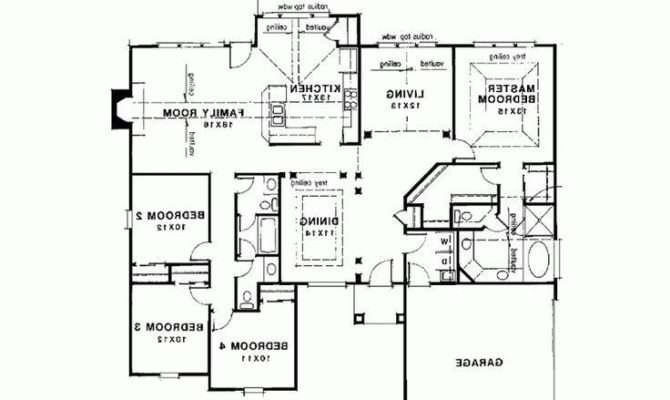 Small Home Plans Seniors New House Floor