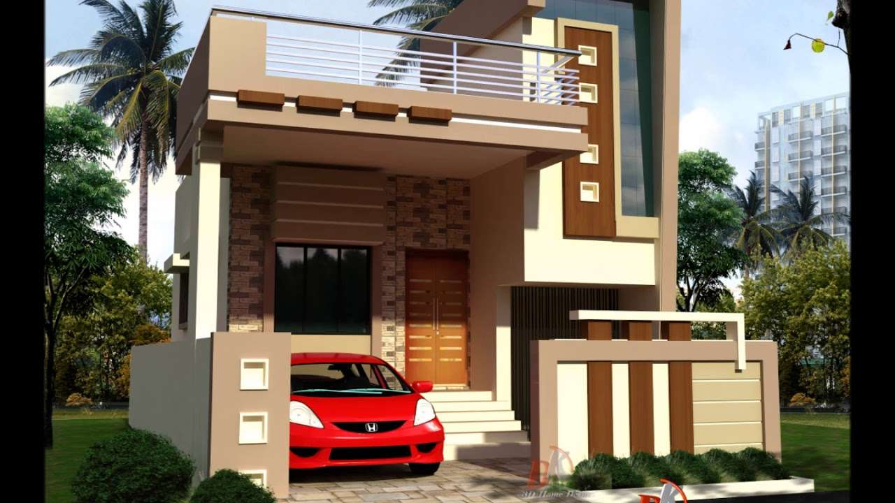 Small House Elevations Front Designs Simple