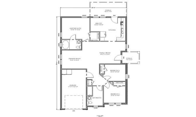 Small House Floor Plan Cottage Plans