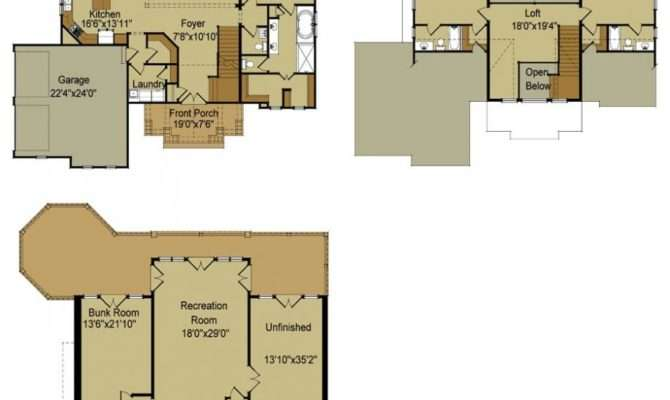 Small House Floor Plans Basement Best