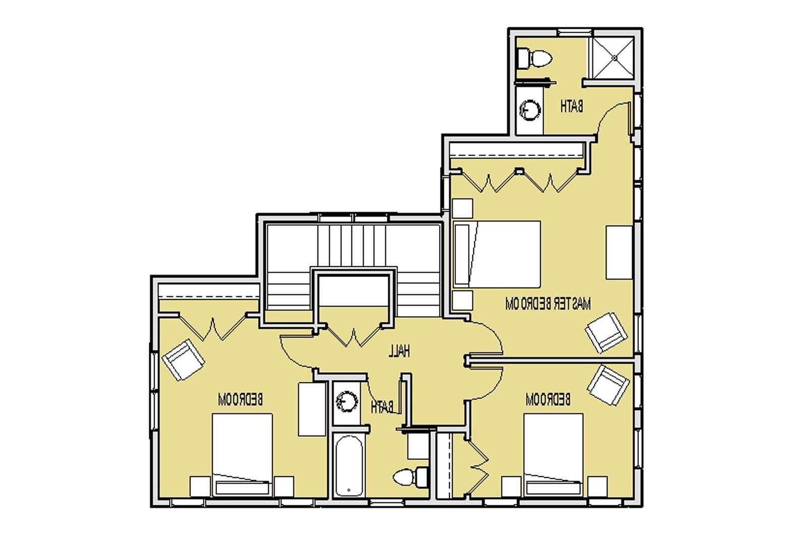 Small House Floor Plans Loft Inside Home
