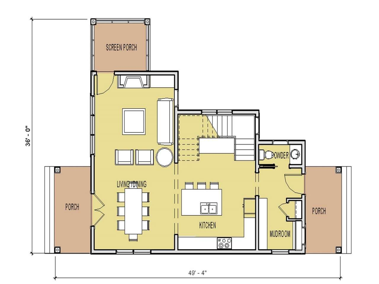 Small House Floor Plans Under Unique