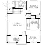 Small House Plan First Floor Layout Sdl Custom Homes