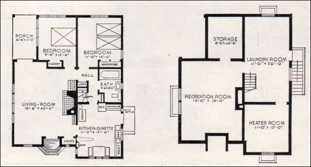 Small House Plans Basements Best