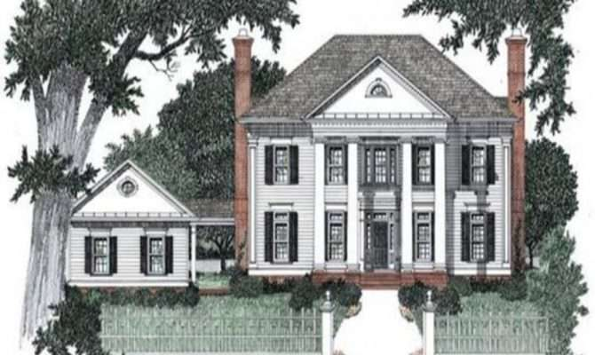 Small House Plans Colonial Style