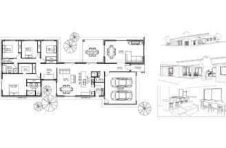 Small House Plans Courtyard