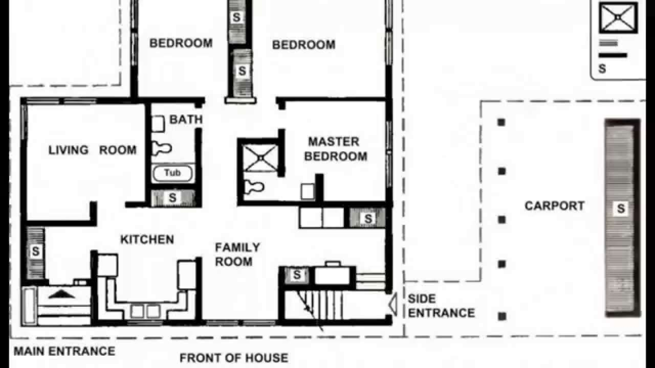 Small House Plans Modern
