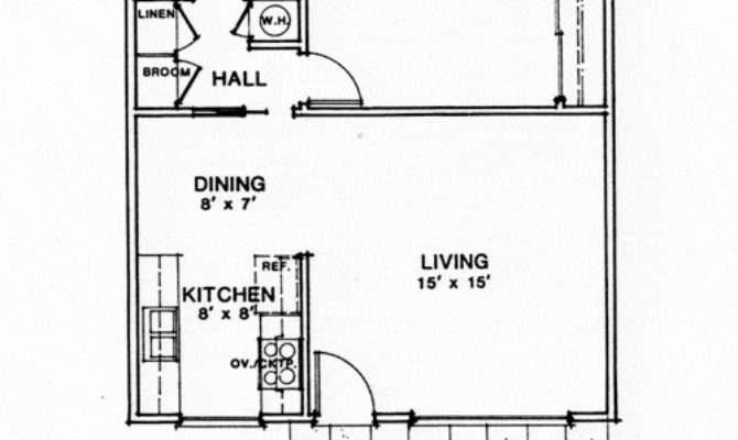 Small House Plans Seniors Homes Floor