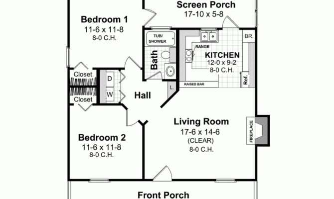 Small House Plans Under Eplans Ranch Plan