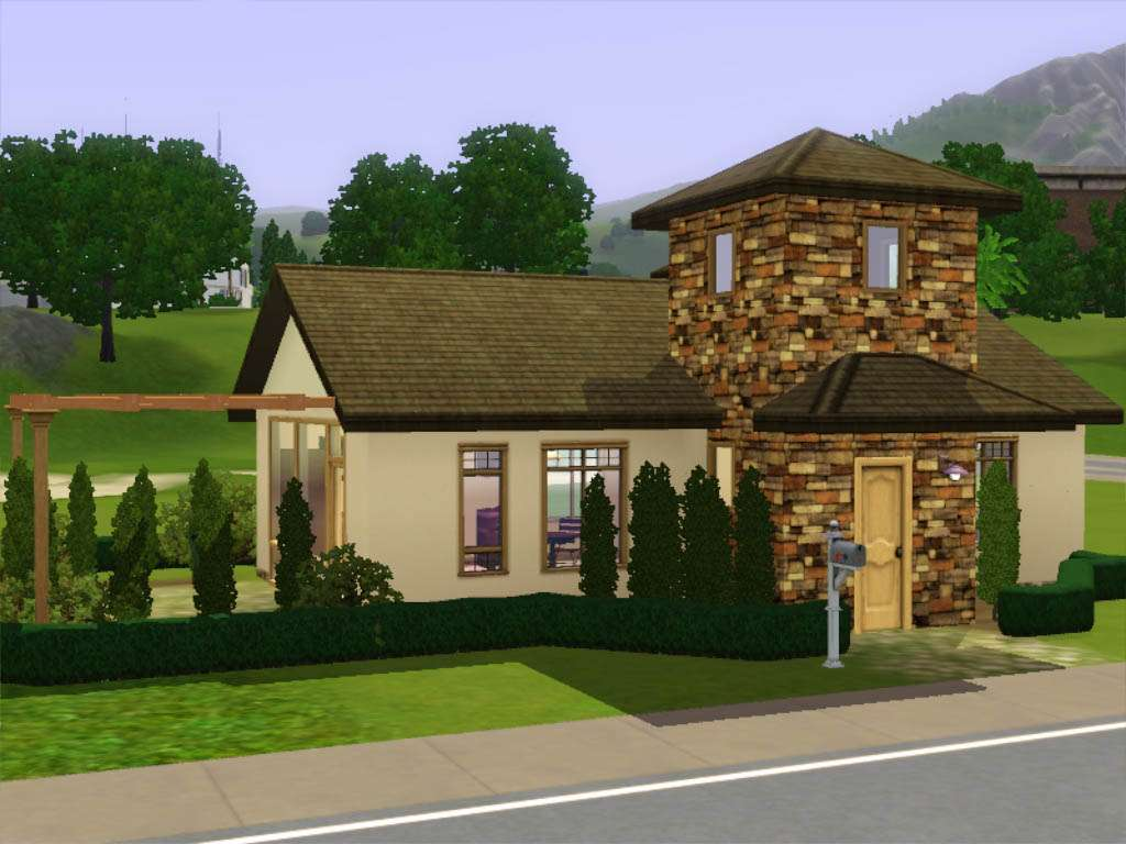 Small Italian Style House Plans Design
