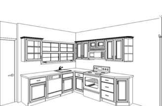 Small Kitchen Remodel Plans