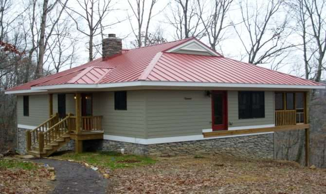 Small Lake Home House Plans Country Vacation