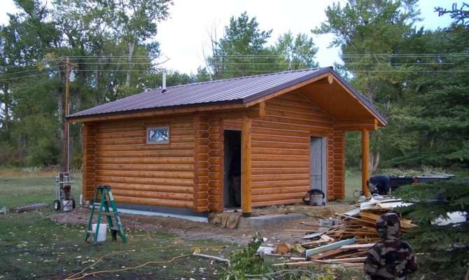 Small Log Cabins Cowboy Homes