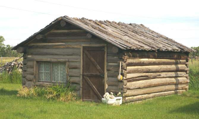 Small Log Home Mike Look Life