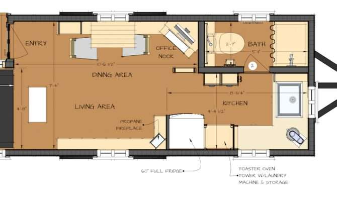 Small Log House Floor Plans Besides Tiny