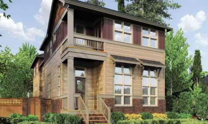 Small Lot House Plans Narrow Square Feet