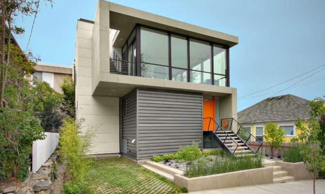 Small Lot Modern House Design Plans