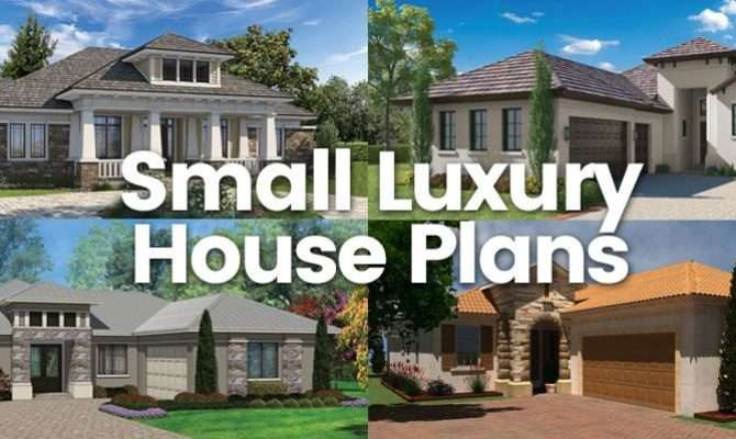 Small Luxury House Plans Sater Design Collection Home