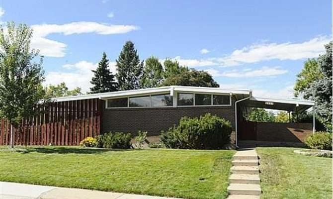 Small Mid Century Modern Home Plans