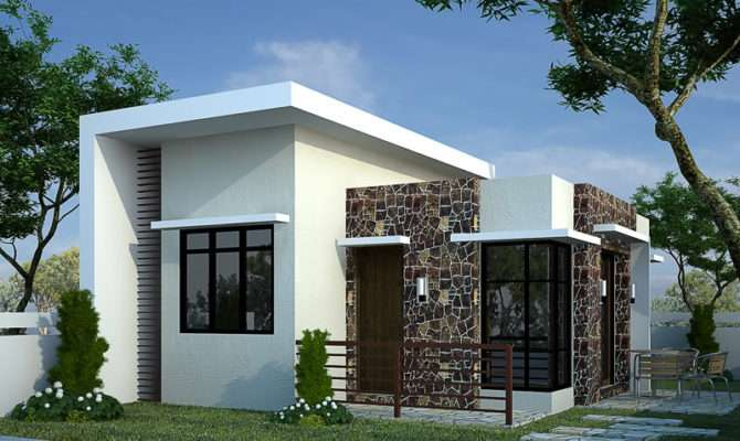 Small Modern Bungalow House Plans Cottage