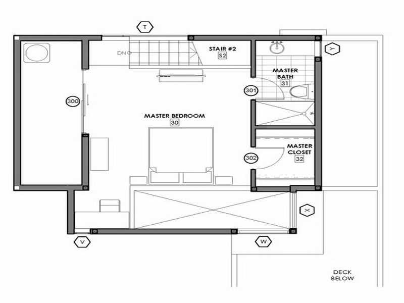 Small Modern House Floor Plans