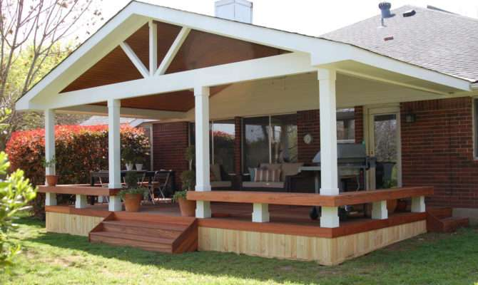 Small Patio Decks Deck Covered Porch Design Ideas