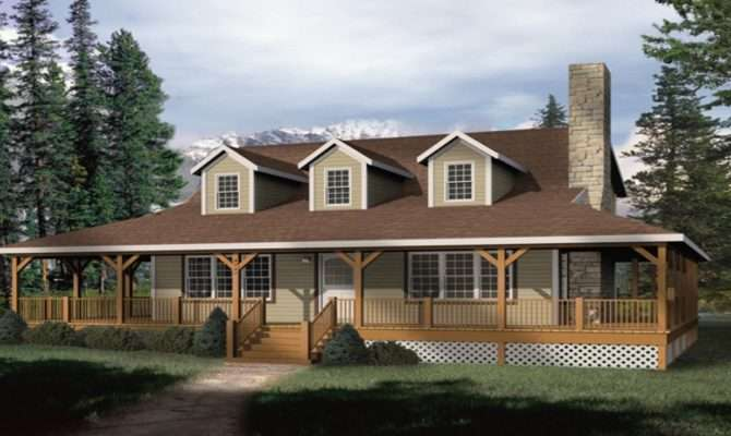 Small Rustic House Plans Wrap