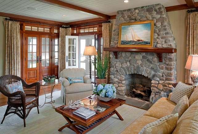 Small Shingle Beach Cottage Design Home Bunch Interior