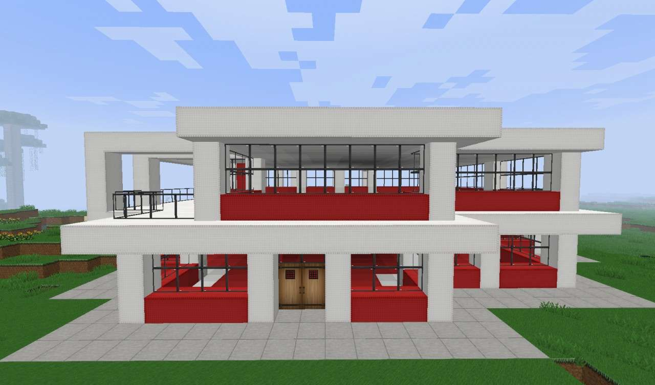 Small Simple Modern House Minecraft Project - Architecture ...