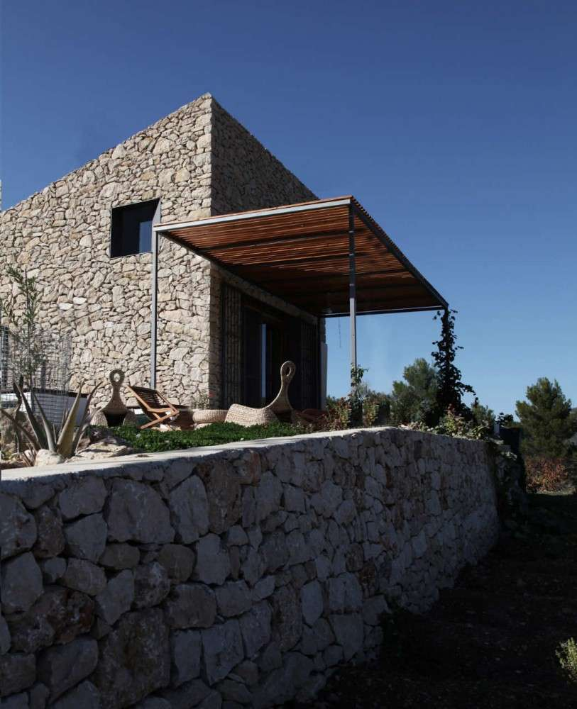 Small Simple Stone House Spain Most Beautiful Houses