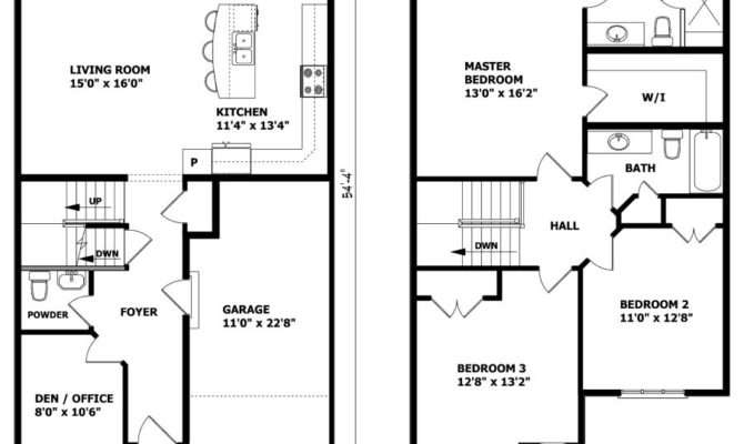 Small Storey House Plans Pinte