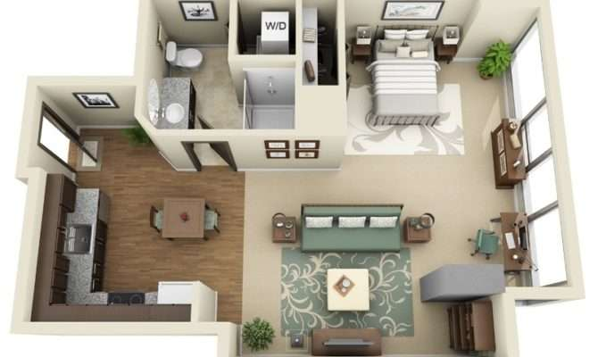 Small Studio Apartments Above Actually Plan Suite