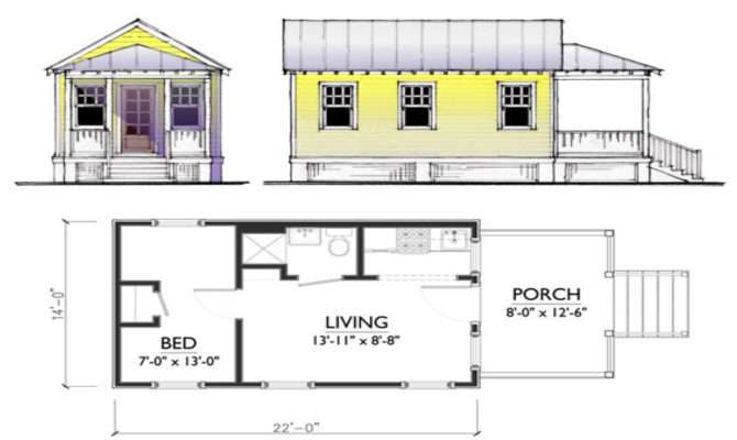 Small Tiny House Plans Best Cottage Layout Guest Home