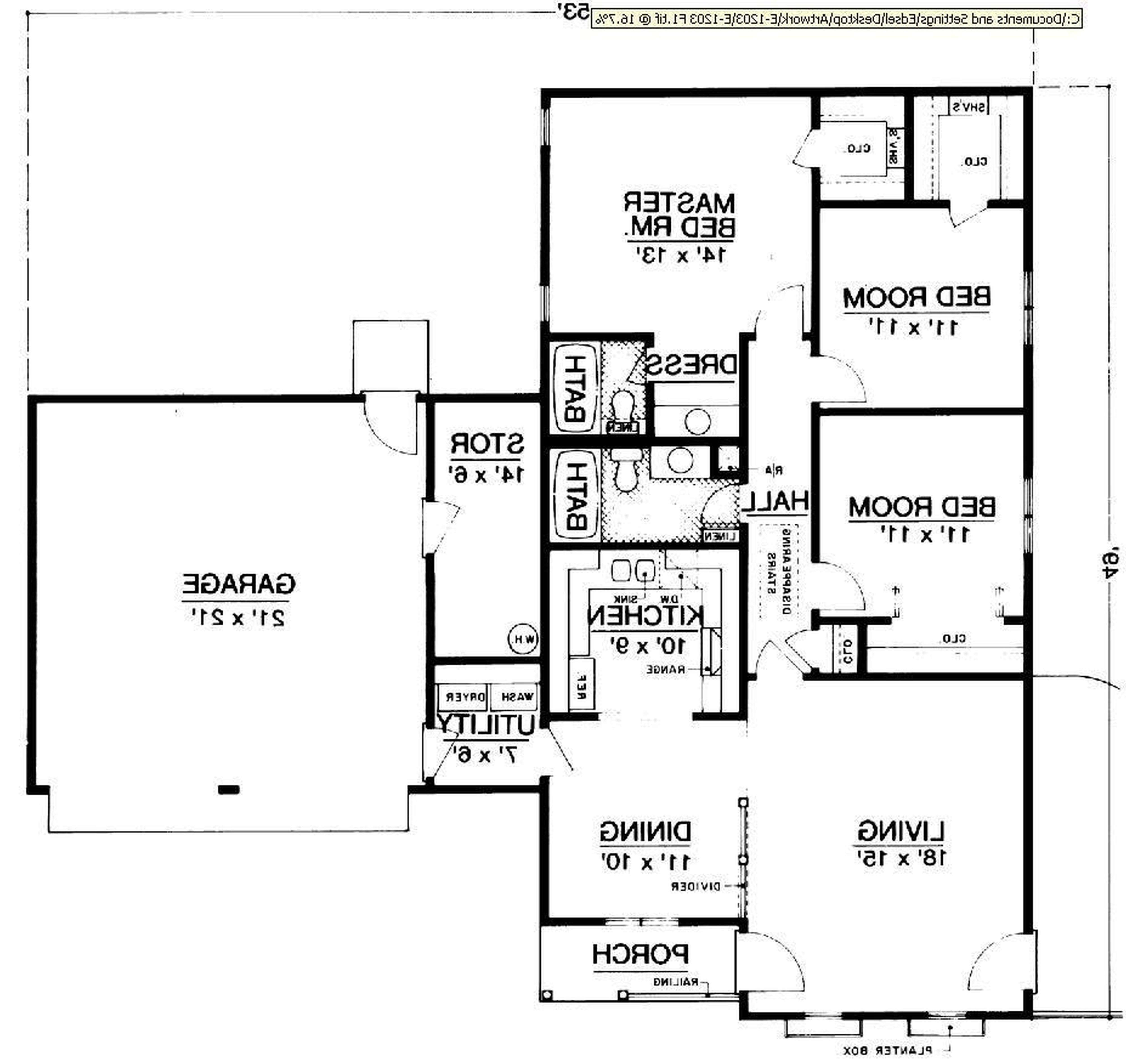Small Traditional Floor Plans Home Deco