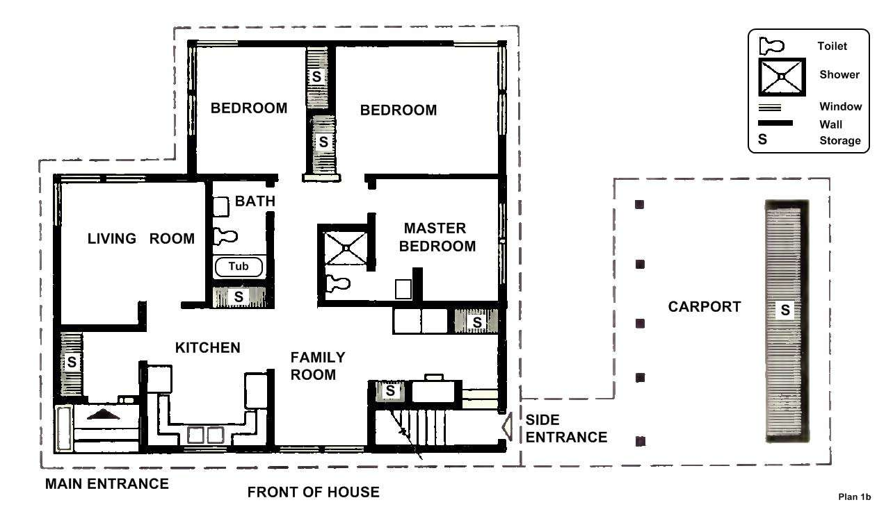 Small Two Bedroom House Plans Design Architecture