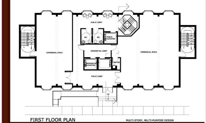 Small Two Story Office Building Design