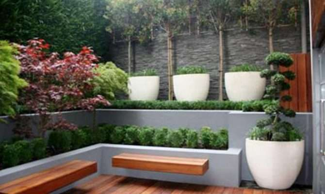 Small Urban Home Garden Design Ideas