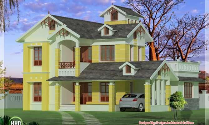 Small Villa Plan Luxurious
