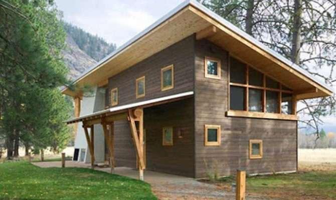 Small Wooden House Architecture Design Cabin Ideas