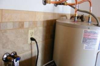 Solder Flex Water Heater Garage Journal Board