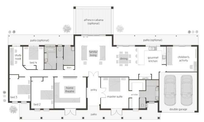Somerset Grange Floorplans Mcdonald Jones Homes