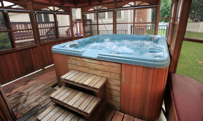 Soothing Hot Tub Ideas