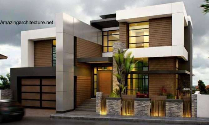 Sophisticate Modern Residential House Amazing
