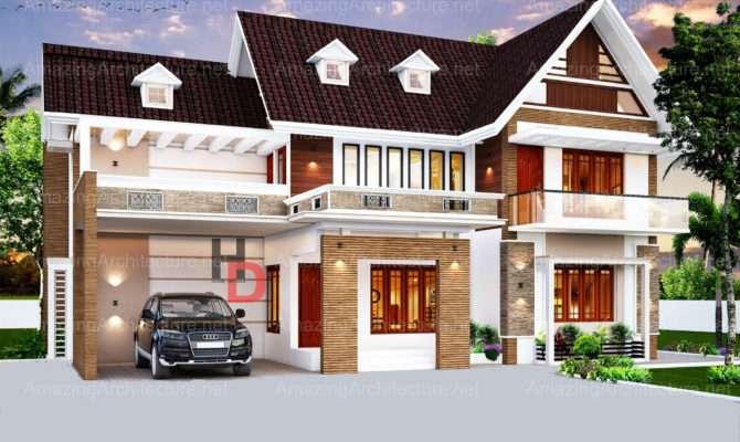 Sophisticate Modern Residential House Design Amazing