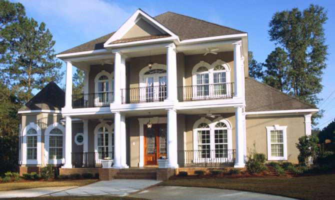 Southern Colonial Style House Stylish