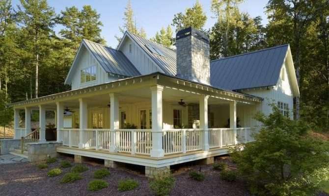 Southern Farmhouse Style Exterior Dream House Pinterest
