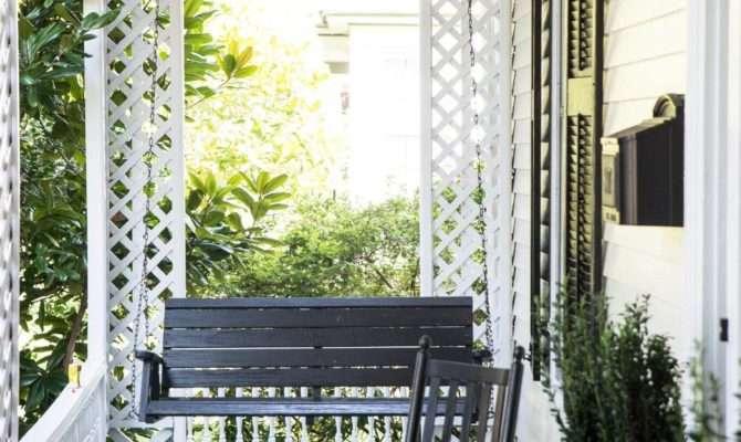 Southern Greek Revival Charmer Original Front Porch